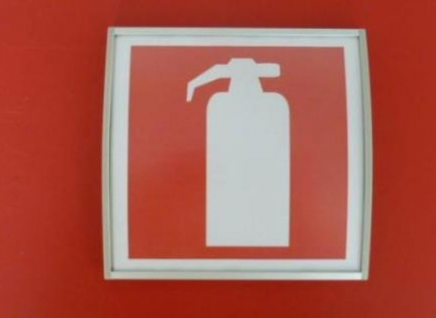 Pictogrammen brandblusapparaat