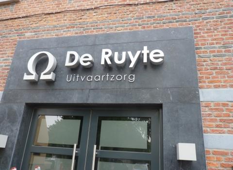 Gevelletters De Ruyte