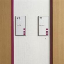 binnensignalisatie deurbordjes